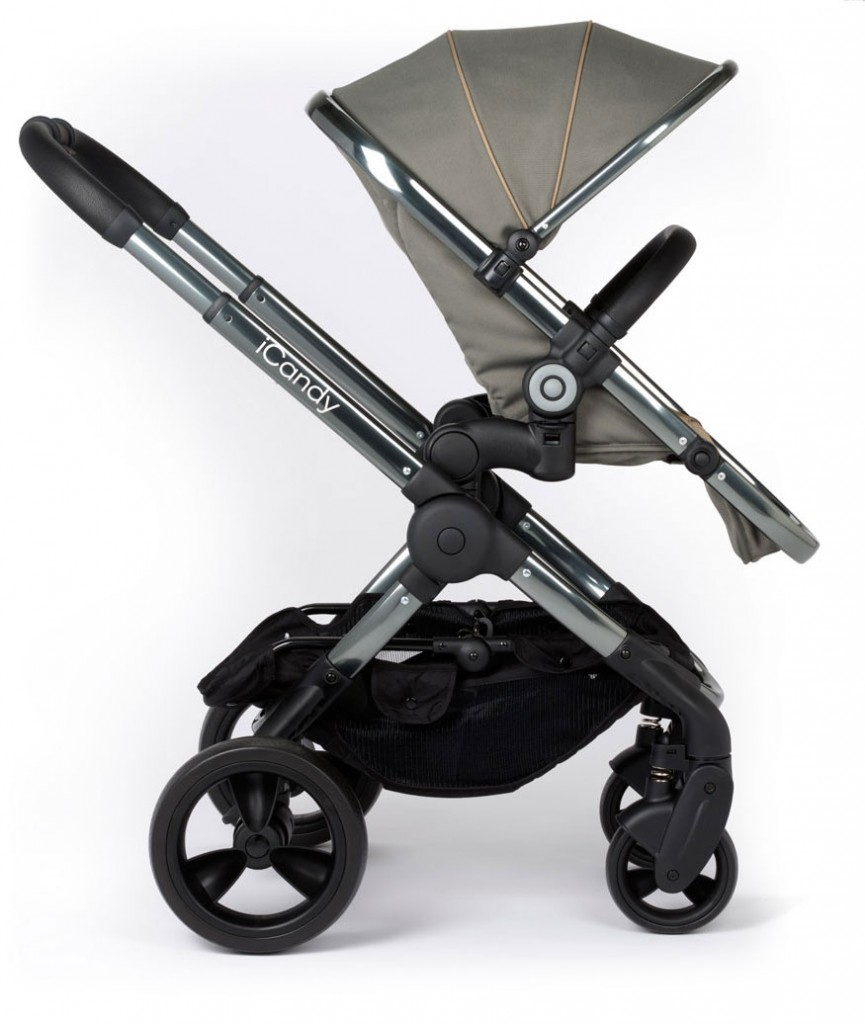 iCandy-PEACH-2016--Pushchair-PROFILE-ELEV-OLIVE-WF
