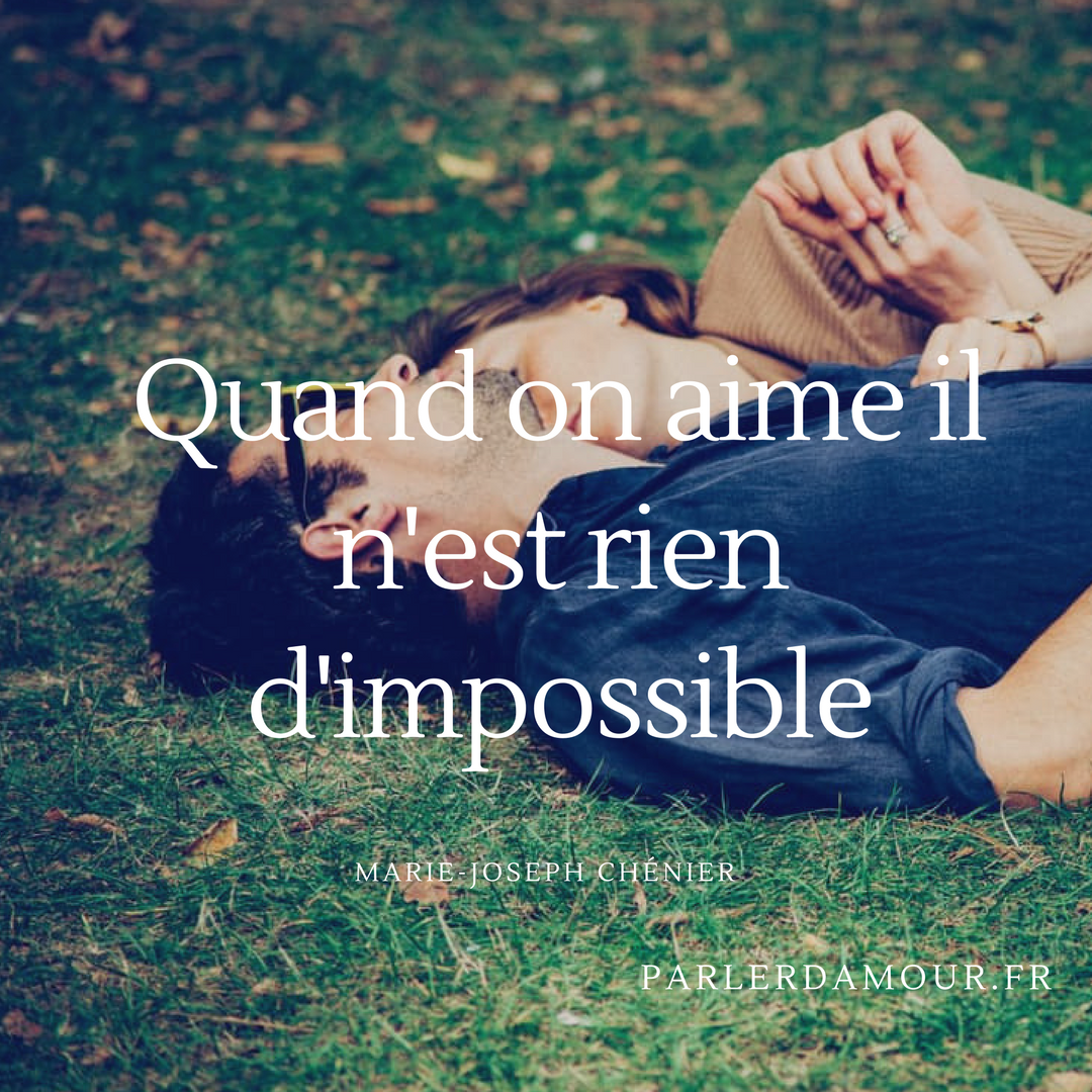 Citation rencontre impossible