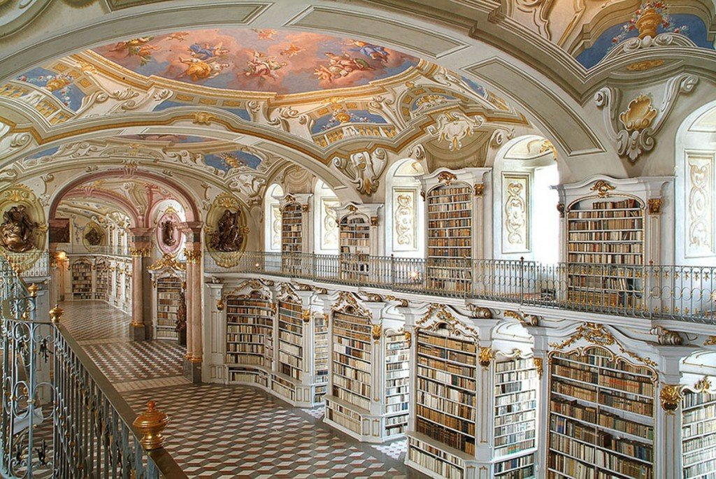 The Admont Library, Admont, Autriche