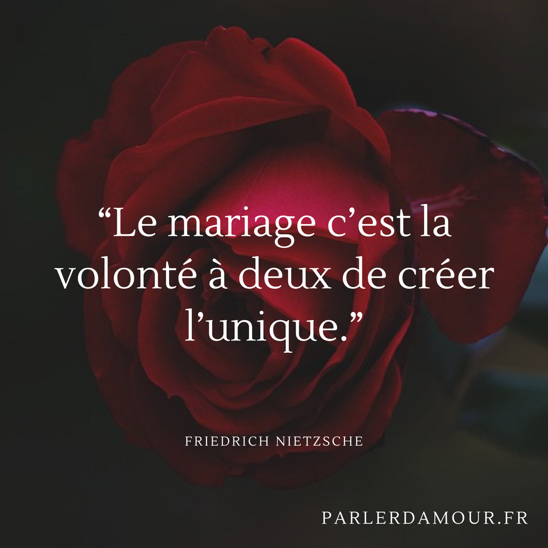 Citations De Mariage