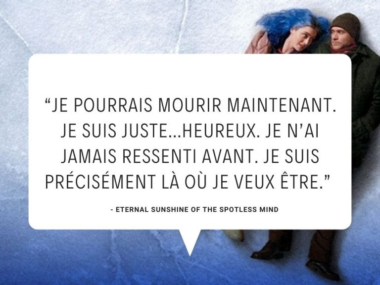 Citations de films d'amour cultes