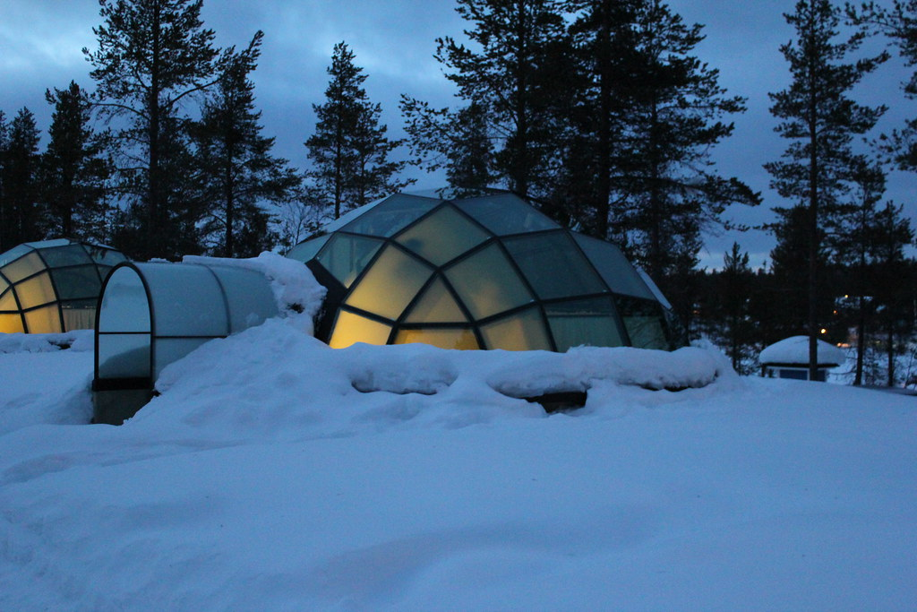 Weekend pour la Saint Valentin : igloo
