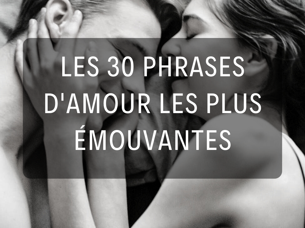 phrases d'amour