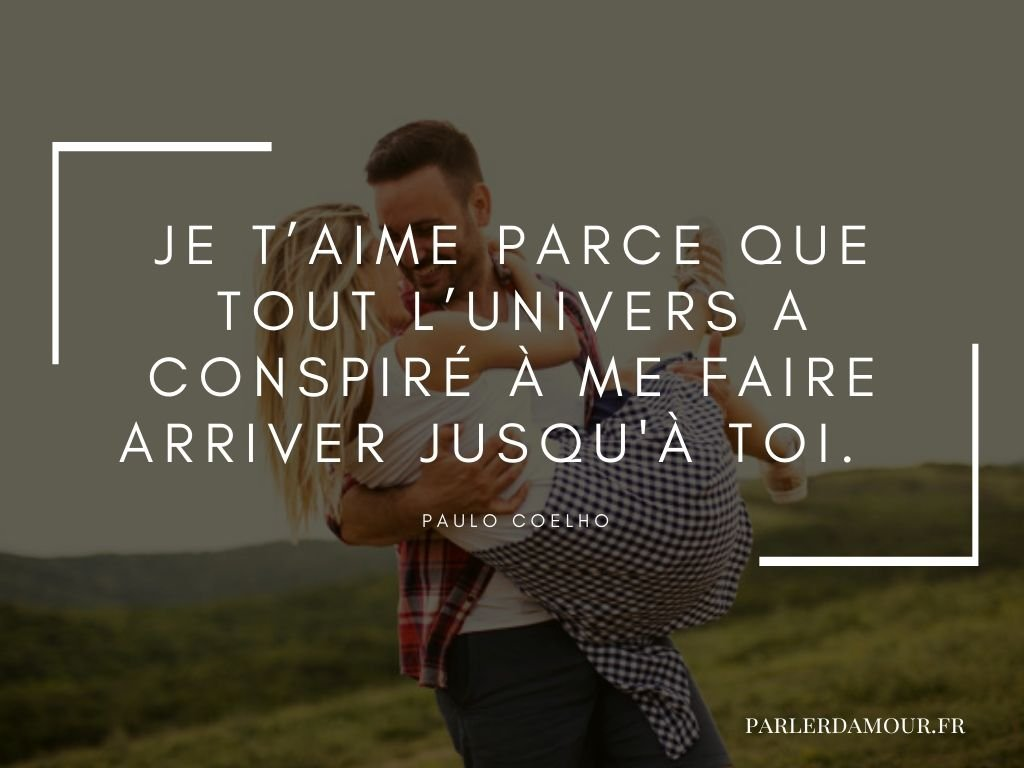 citations je t'aime