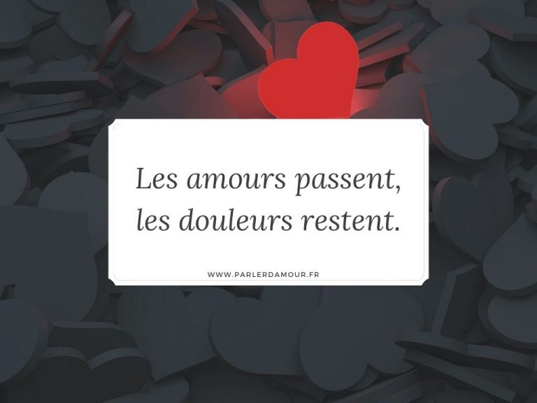 dictons d'amour