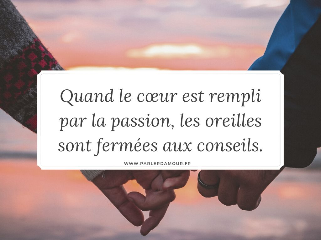 Proverbes amour
